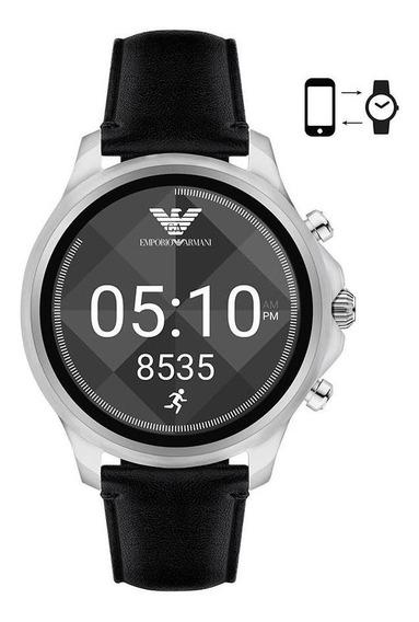 Smartwatch Emporio Armani Masculino Prata - Art5003/0pi