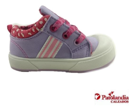 Zapatillas Proforce Niñas C/cordon Lila/fucsia N°17/23