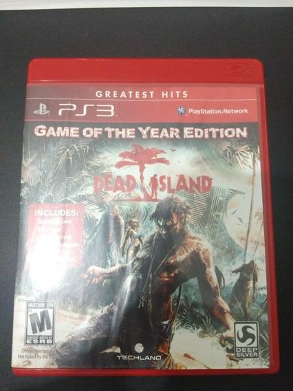 Mídia Física Ps3 Dead Island