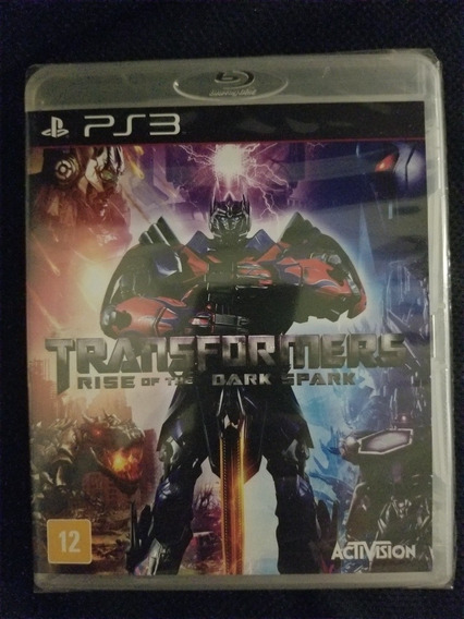 Jogo Ps3 Transformers Rise Of The Dark Spark Lacrado