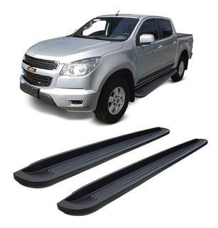 Estribos Plastico Inyectados Bepo Negros Chevrolet S10 2020