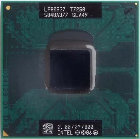 Processador Core2duo T7250 2.0/2m/800fsb Funcionando