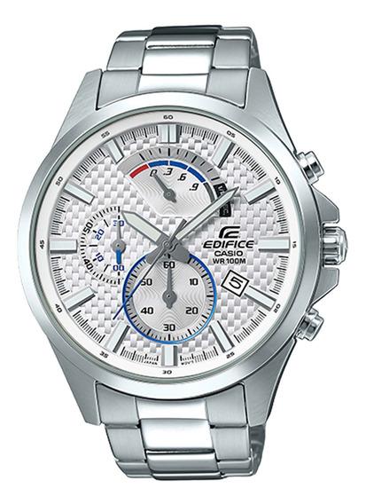 Relógio Casio Efv-530d-7avudf Edífice Masc Branco - Refinado