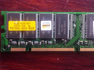 Memoria Ram Compaq Pc100 128mb