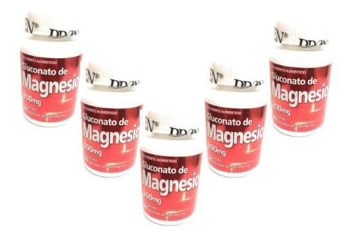 Gluconato De Magnesio 90 Tab Pronacen 200mg (5 Pz)enviofull