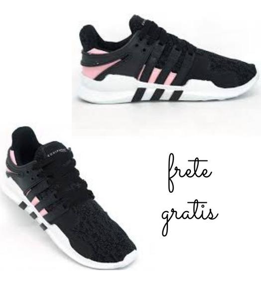 Tênis Feminino adidas Equipment Adv Rajado E Rosa