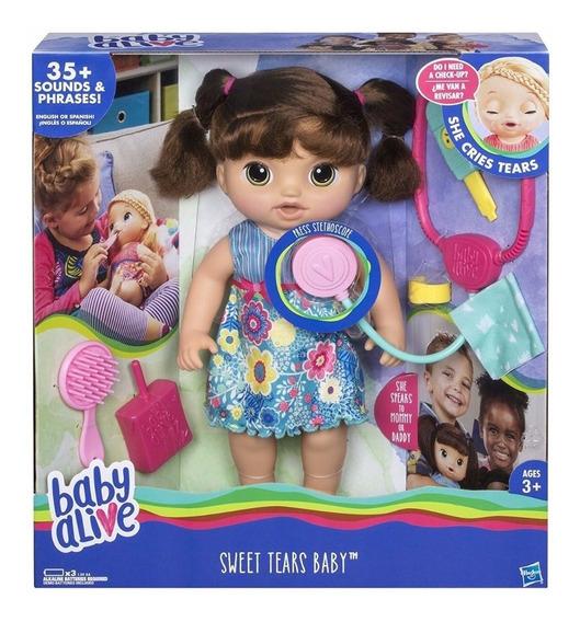 Baby Alive Doces Lágrimas Chora E Fala - Hasbro