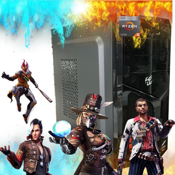Computador Pc Gamer Amd Ryzen 5 3400 500gb 8gb Radeon Vega11