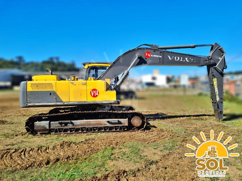 Escavadeira Florestal Volvo Ec220