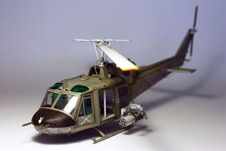 Bell Uh-1b Iroquois - Modelo De Papel