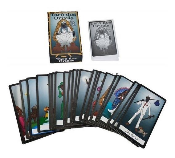 Tarô Dos Orixas Baralho 22 Cartas Tarot Esoterico Noviidade