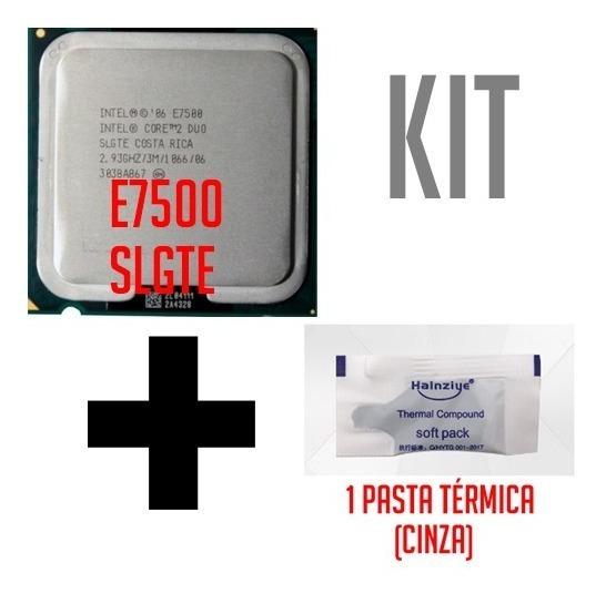 Intel Core 2 Duo E7500 Slgte 2.93ghz Para Desktop