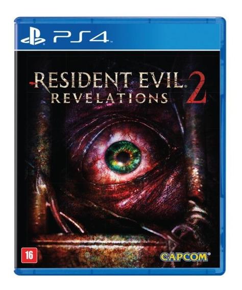 Resident Evil Revelations 2 Ii Em Português Mídia Física Ps4