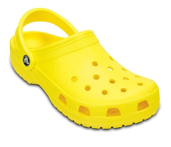 Crocs Hombre Mujer Classic Yellow Originales
