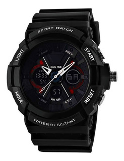 Reloj Skmei 0966 Analogico Digital Cronometro Alarma Wr 50m
