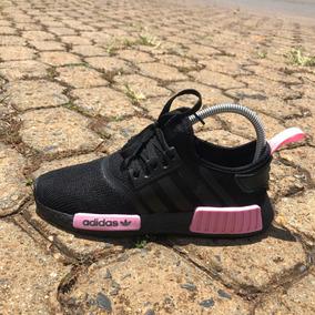 Tênis adidas Nmd Runner R1 Preto/rosa (promoção) - Feminino