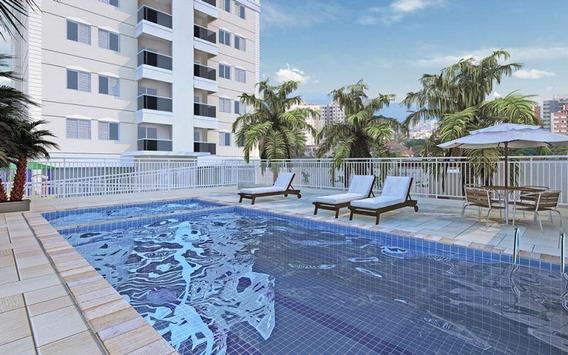 Apartamento No Campestre Santo Andre 2dormitorios 60m Suite