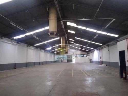Imagem 1 de 8 de Imobiliária Madri Aluga Galpão Leopoldina - Ga0079