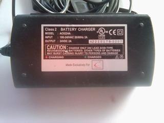 Cargador De Baterias 24v 2a Acido