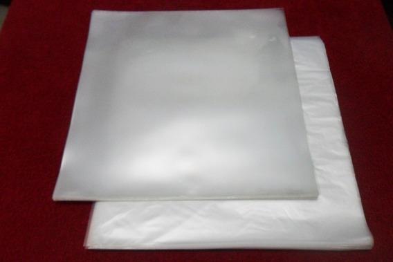 Plásticos P/ Lp Disco Vinil 50 Externos 0,20 + 50 Internos