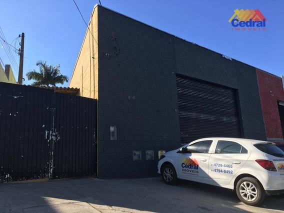 Galpão Para Alugar, 350 M² Por R$ 6.500/mês - Jardim Rodeio - Mogi Das Cruzes/sp - Ga0024
