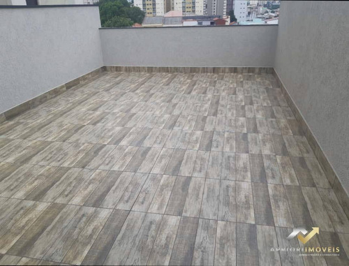 Cobertura À Venda, 106 M² Por R$ 420.000,00 - Campestre - Santo André/sp - Co0597