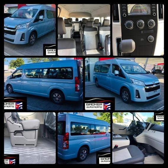 Toyota Hiace Gl Japonesa Año 2020