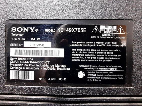 Tv Smart Sony Bravia 4k Modelo Kd-49x705ek