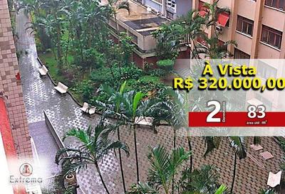 Espetacular Apartamento De 2 Dormitórios Em São Vicente - Ap0730 - Ap0730