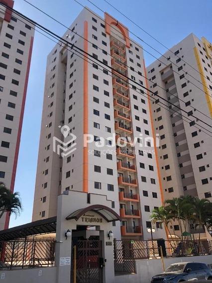 Apartamento Para Aluguel, 3 Quartos, 2 Vagas, Jardim Infante Dom Henrique - Bauru/sp - 746