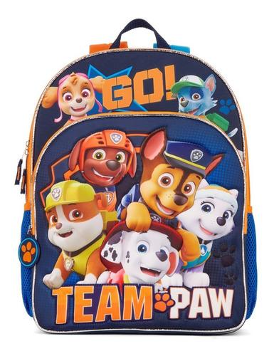 Bolso Escolar Paw Patrol Para Niños
