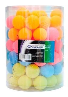 Pelotas de tenis de mesa Donic-Schildkr/öt Color Popps