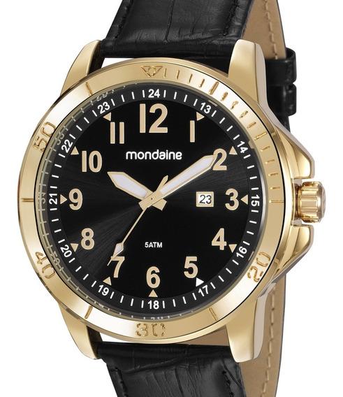 Relógio Mondaine Masculino Couro 99412gpmvdh2