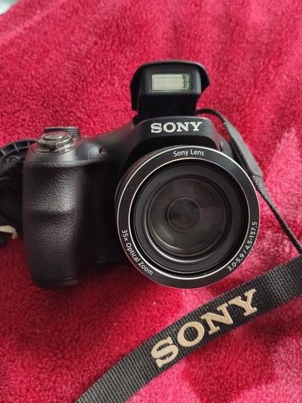 Câmera Semi-profissional Sony Dsc H300