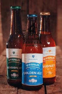 Cerveza Strauss Sin T.a.c.c