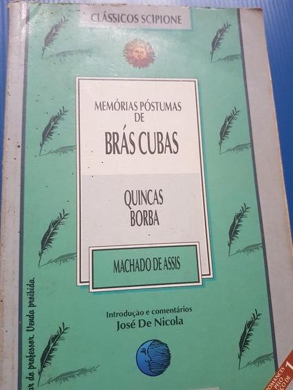2 Em 1: Memórias Póstumas De Brás Cubas E Quincas Borba