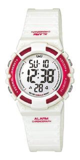 Reloj Digital Q&q M138 Sumergible 100 Metros