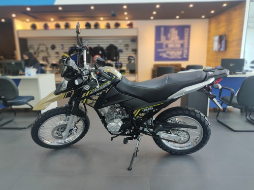 Imagem 1 de 9 de Yamaha Xtz 150 Abs Crosser Z Bege