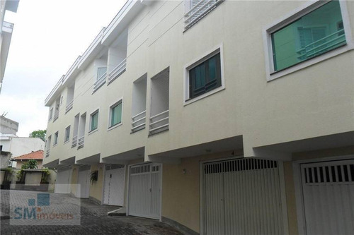Sobrado Com 2 Dormitórios À Venda, 136 M² Por R$ 575.000,00 - Vila Alzira - Santo André/sp - So0584