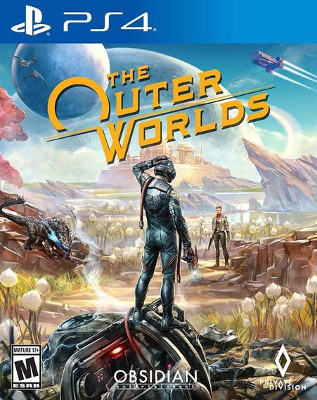 The Outer Worlds - Ps4 - Mídia Física! Pronta Entrega!