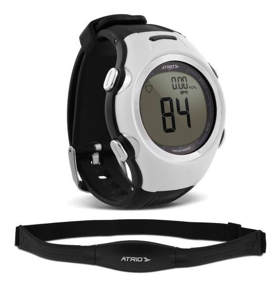 Relógio Smart Run Atrio Es090 Preto Monitor Cardíaco Corrida