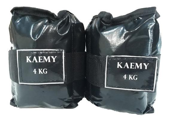 Tornozeleira De Peso 4 Kilos - Par