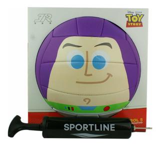 Balón Voleibol Toy Story 4 Buzz Lightyear Pvc No. 5 Bomba Gr