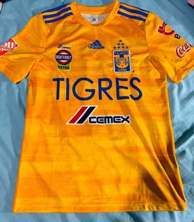 Jersey Tigres (talla L Niño)