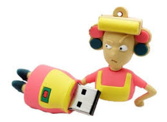 Pendrive 32gb Turma Do Chaves Sbt Dona Florinda