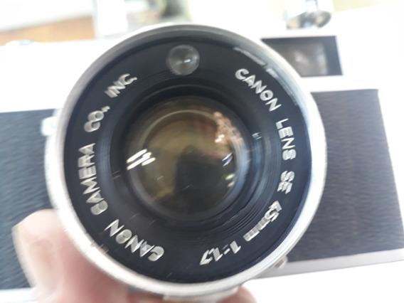 Camera Canonet Ql17 Rangerfinder