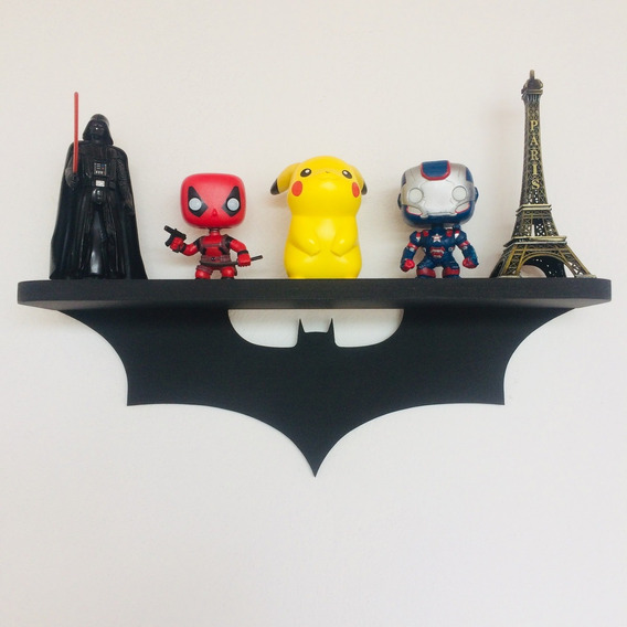 Prateleira Batman -woodgeek