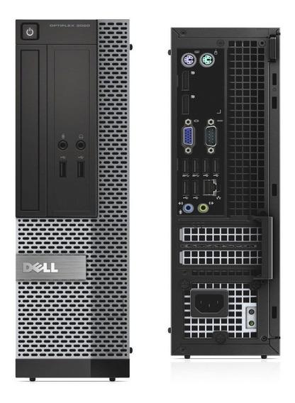 Pc Desktop Dell Mini 7020 I5 4º Geração 4gb 500gb Seminovo!