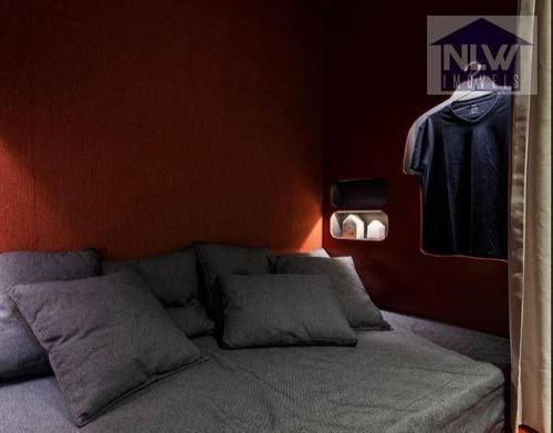 Studio Com 1 Dormitório À Venda, 32 M² Por R$ 412.576,83 - Perdizes - São Paulo/sp - St0080