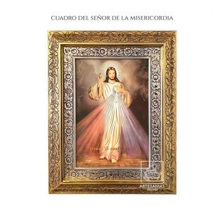 Cuadro Del Señor De La Misericordia 60x47 Cm